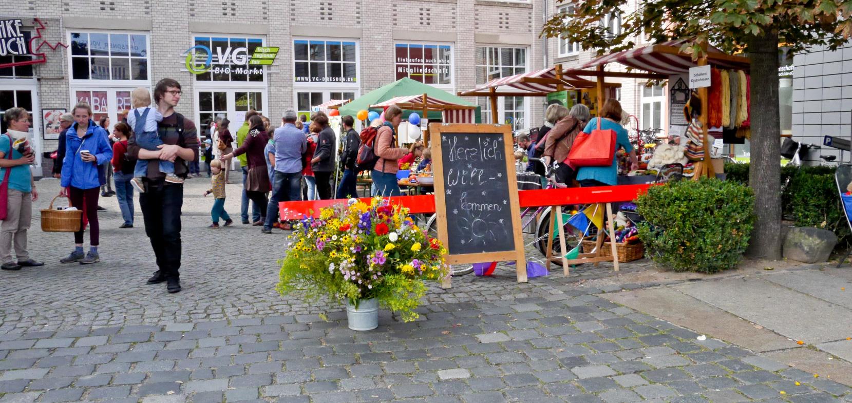 Utopie des Monats: Die Verbrauchergemeinschaft Dresden